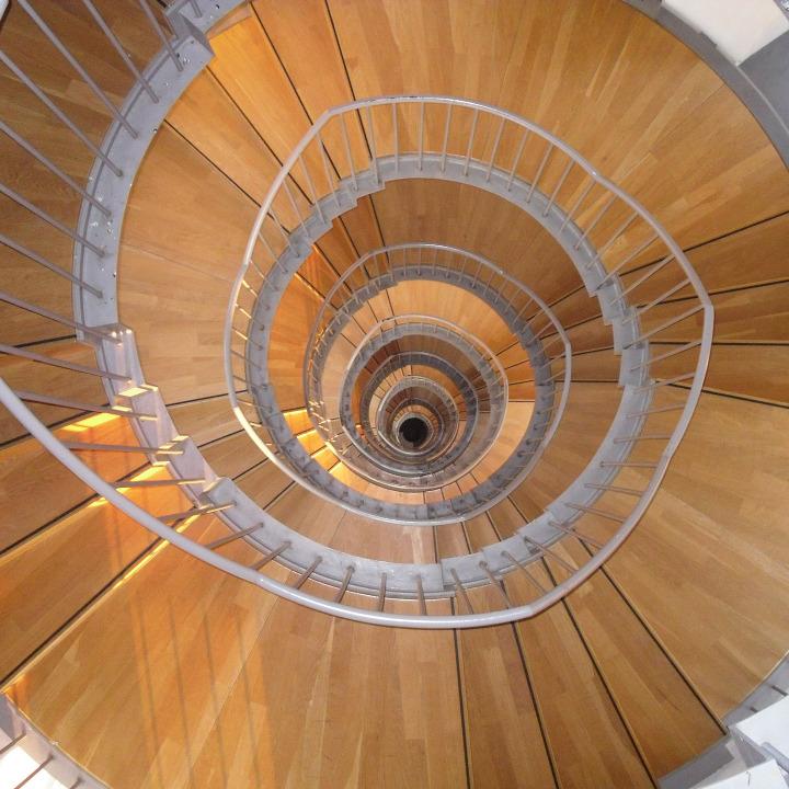 Photo escalier colimaçon